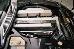 Straight Six engine on the Aston Martin hire car
