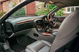Aston Martin DB7 interior - hire this Aston martin in West Yorkshire